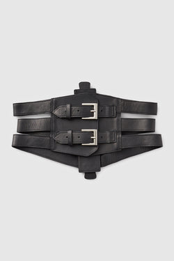 Hooked On Me Belt Black - Kiki de Montparnasse
