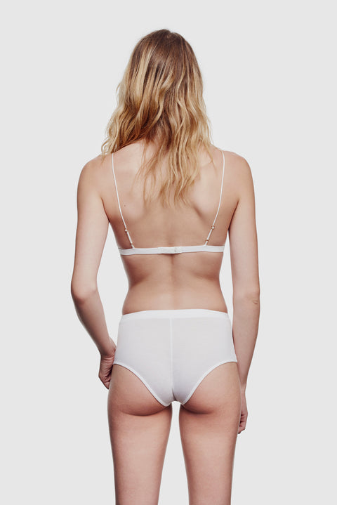 Intime High Waisted Panty Classic White
