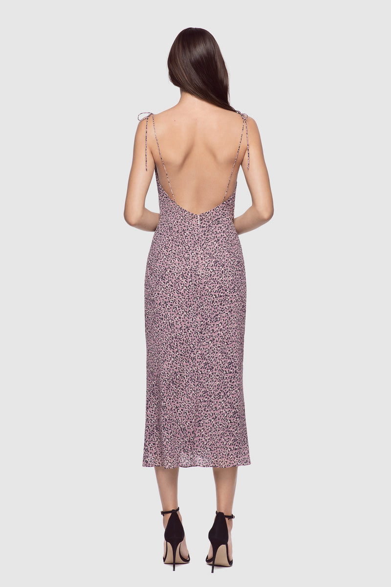 Simple Slip Dress Leopard - Kiki de Montparnasse