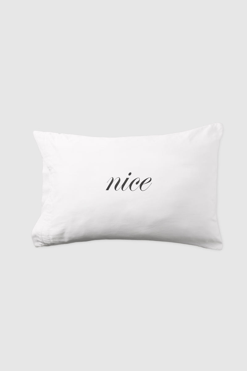 Naughty/Nice Pillow Case Set - Kiki de Montparnasse