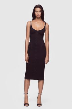 Ribbed Jersey Dress - Kiki de Montparnasse