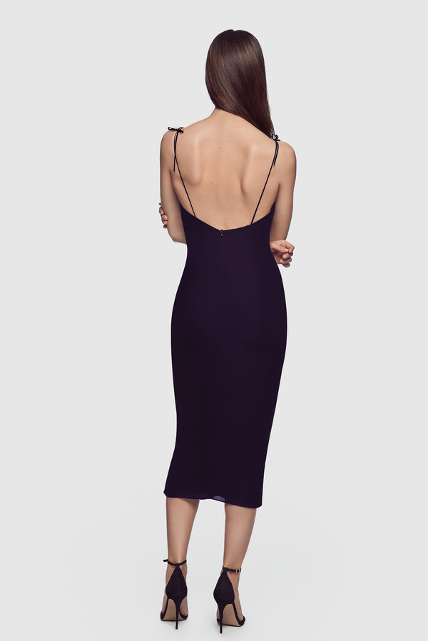 Simple Slip Dress Midnight - Kiki de Montparnasse