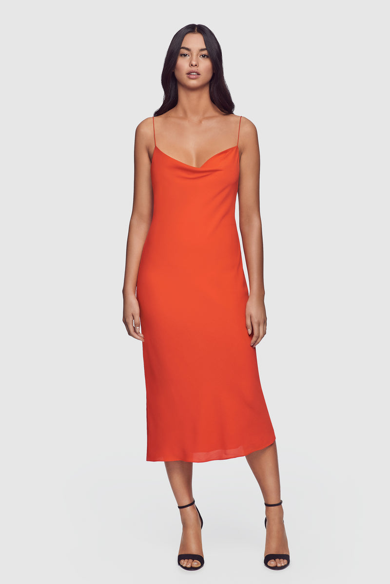 Simple Slip Dress Scarlet - Kiki de Montparnasse