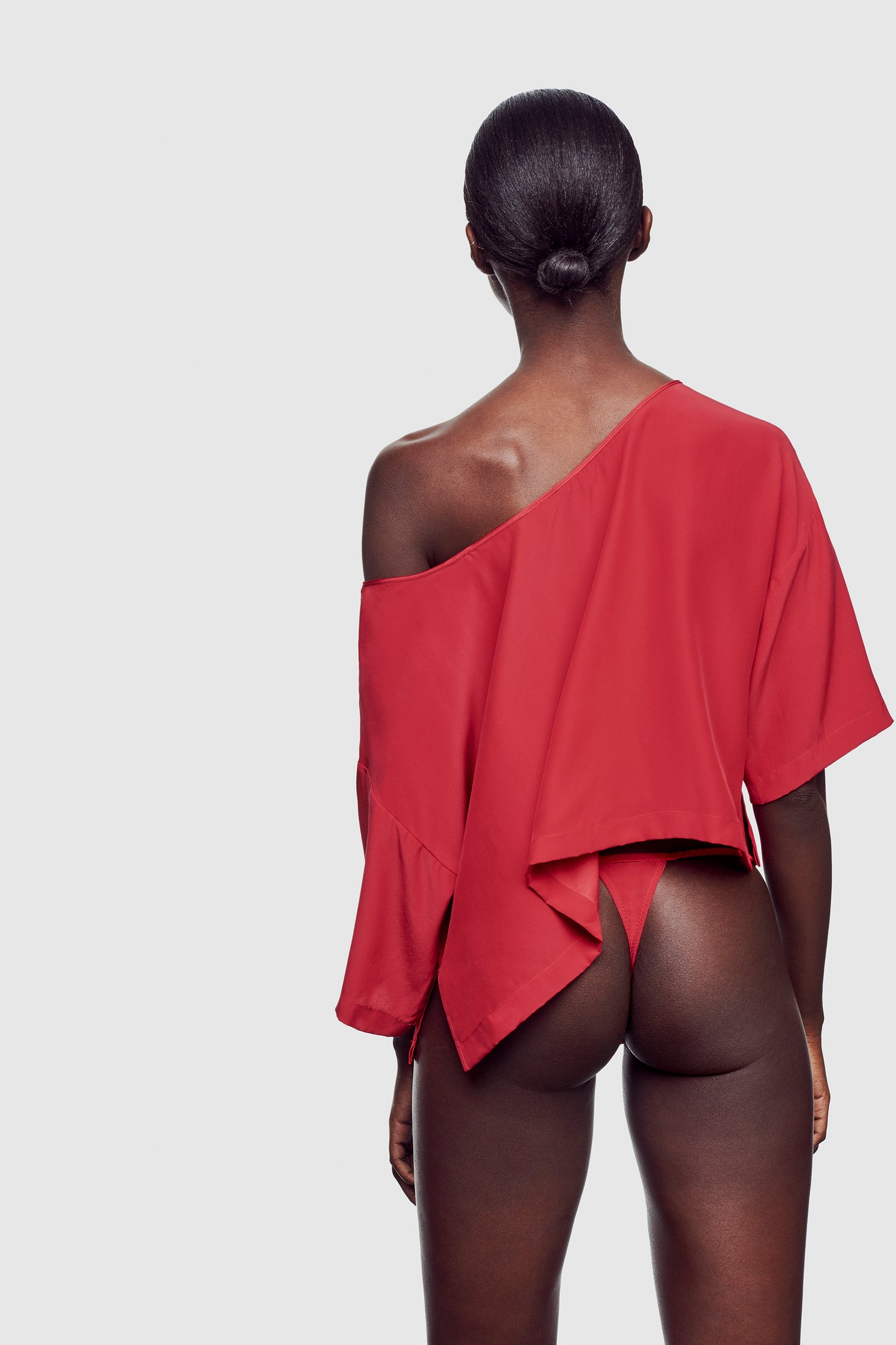 Amour Off Shoulder Top Vermillion - Kiki de Montparnasse