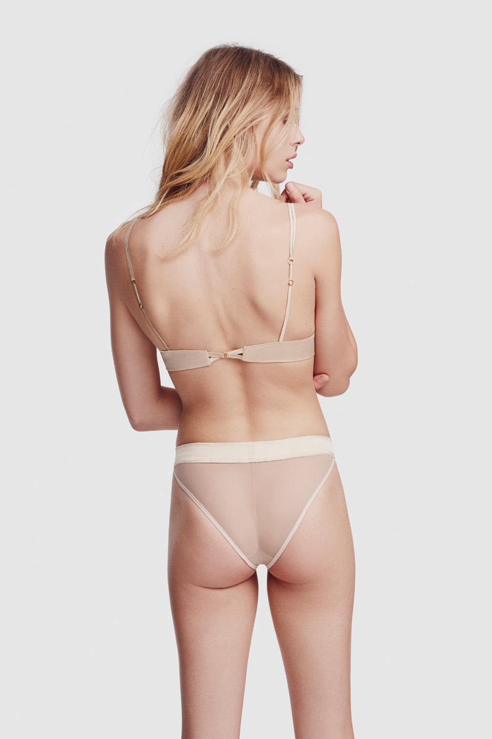 Voile Soft Bra Bone