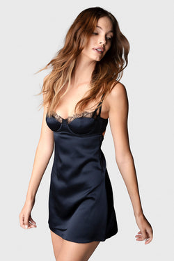 LA REVE SLIP DRESS