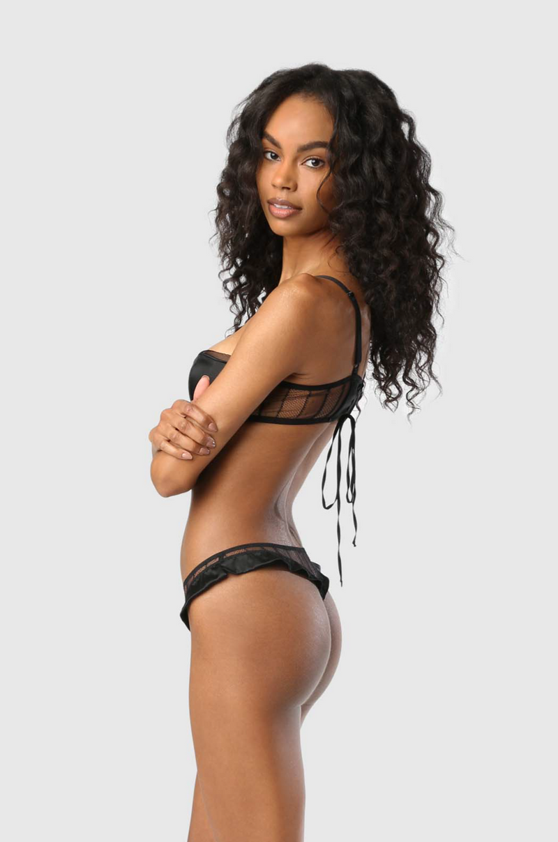 MUSE THONG - BLACK
