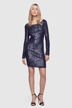 Sequin Backless Dress - Kiki de Montparnasse