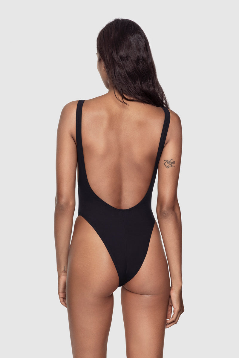 Swim Plunge Back One Piece - Kiki de Montparnasse
