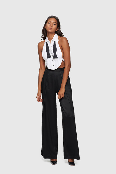 Fantasy Tuxedo Bib and Cuffs White/Black
