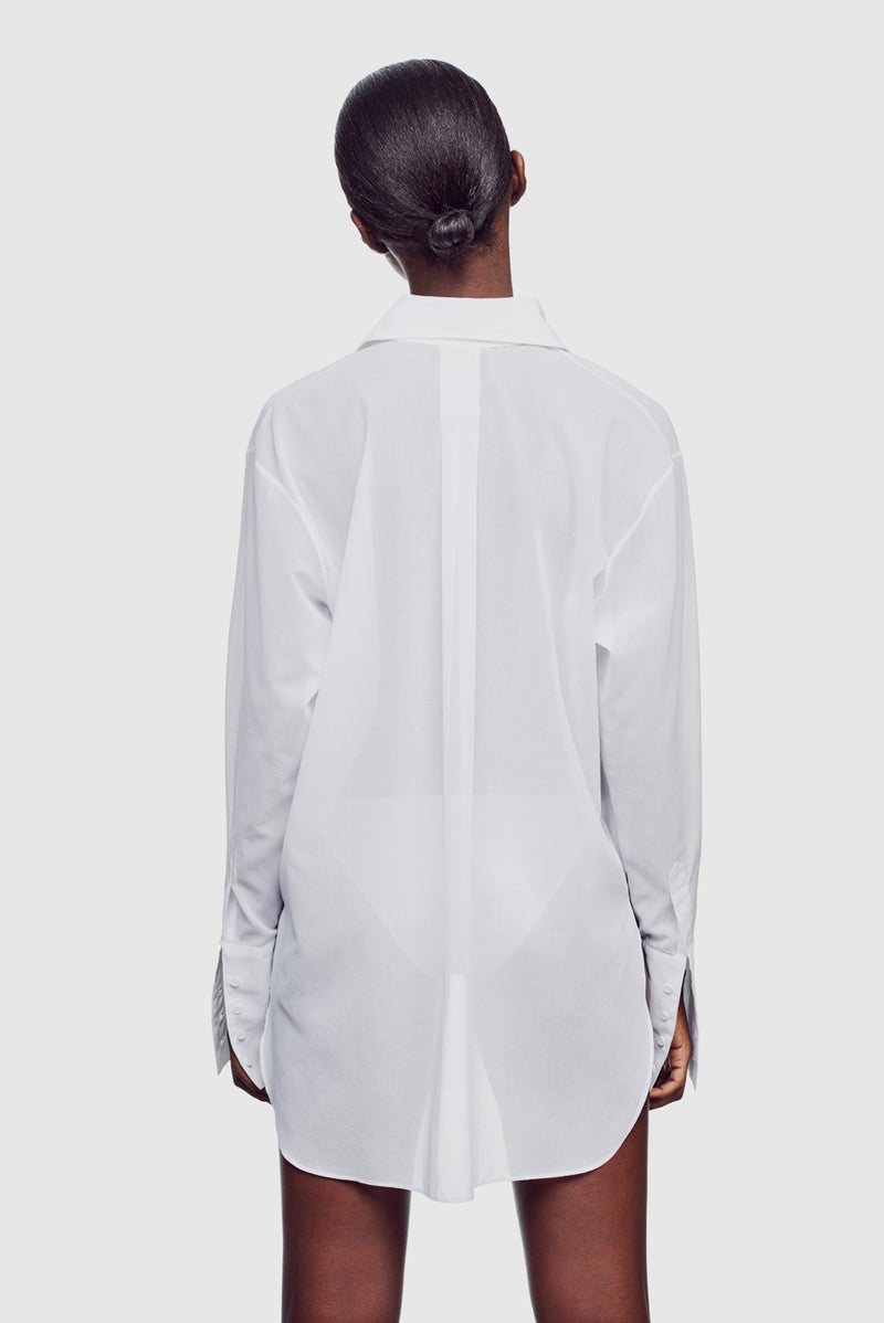 Girlfriend Shirt White - Kiki de Montparnasse