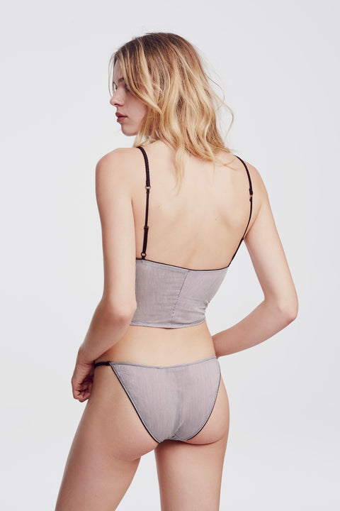 Cotton Stripe Brief Stripe - Kiki de Montparnasse
