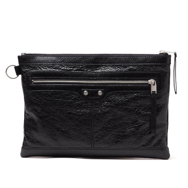 BALENCIAGA Leather Medium Clutch Bag - Retail Basis