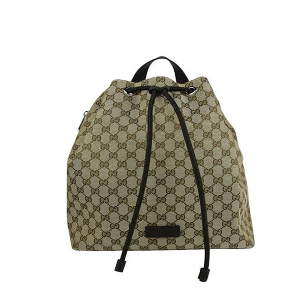 Gucci Original GG Canvas Beige/Brown Backpack - Retail Basis