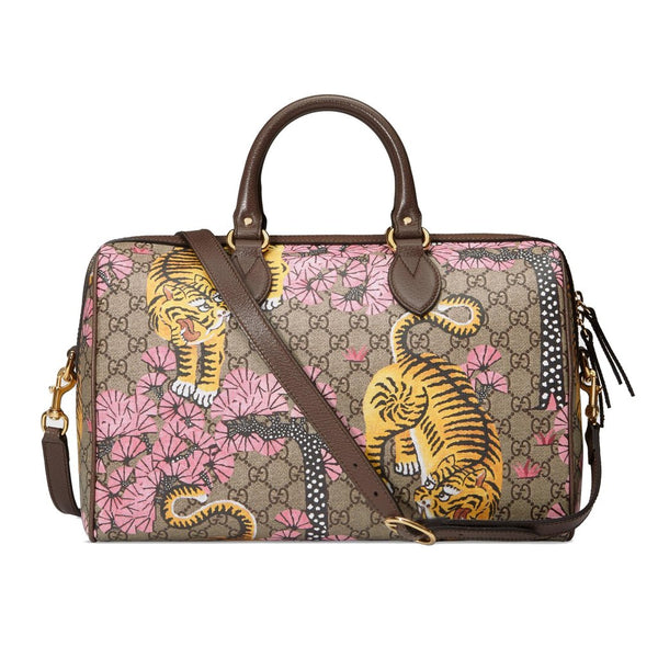 Gucci Women's GG Supreme St. Bengal Boston - Retail Basis