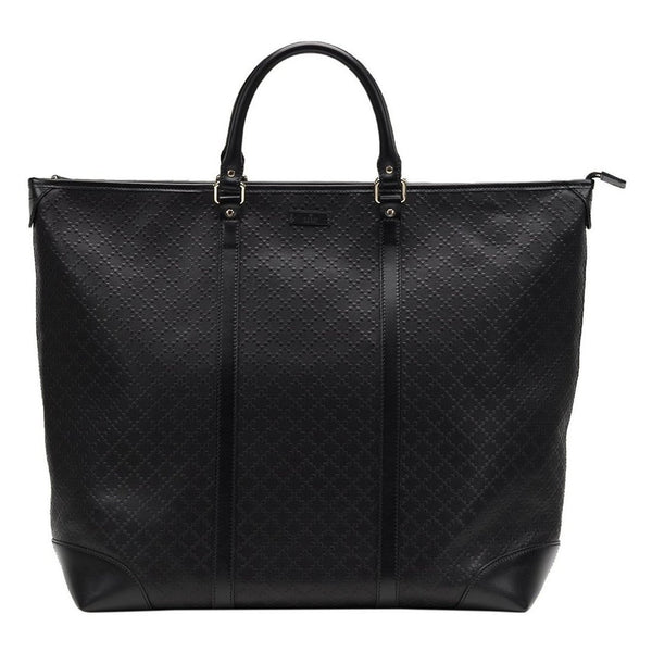 GUCCI GG Diamante Leather Top Handle LARGE Tote Bag - Retail Basis