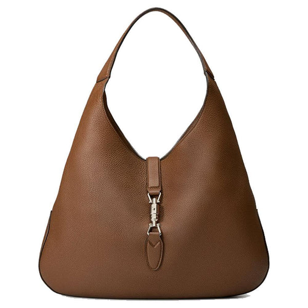 Gucci Jackie Soft Pebbled Leather LARGE Hobo Bag - Retail Basis