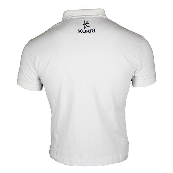 Ulster Rugby Ladies Athletic Fit Yarn Dye Polo 17/18 - White