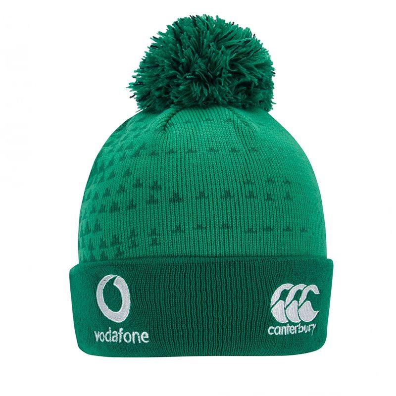 Ireland IRFU Acrylic Bobble Hat 18/19 - Bosphorus