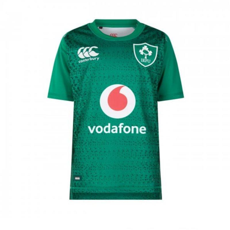 Ireland Rugby Vapodri SS Kids Home Jersey 18/19 - Bosphorus