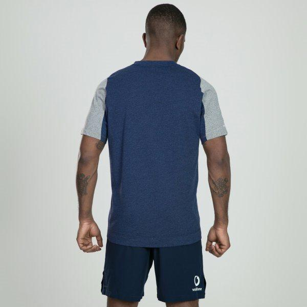 Ireland Rugby Vapodri Cotton Tee - Blue / Marl