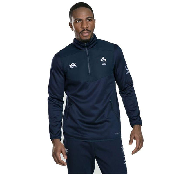Canterbury Ireland Rugby Thermoreg 1/4 Zip Top - Navy