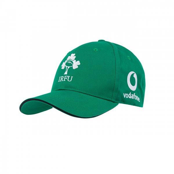 Ireland Rugby Adjustable Baseball Cap - Green