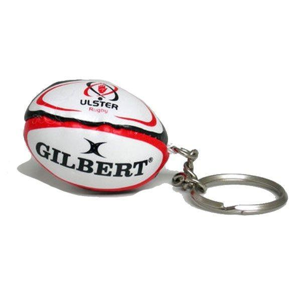 Gilbert Ulster Rugby Ball Keyring