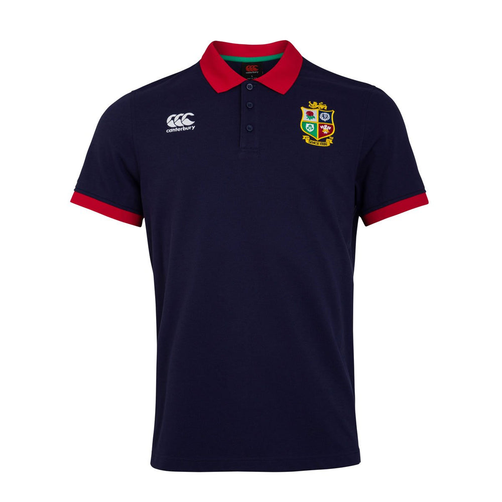 British and Irish Lions Home Nations Polo Shirt - Navy