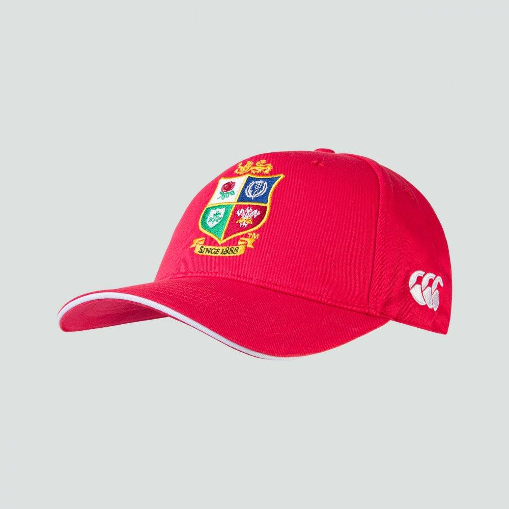 British & Irish Lions Snapback Hat - Red