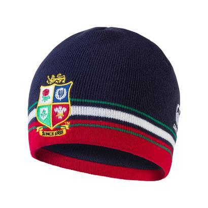British & Irish Lions Fleece Beanie - Navy