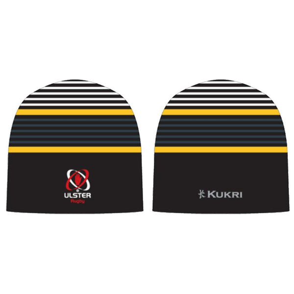 Ulster Rugby 2020/21 Beanie Hat 3 - Black