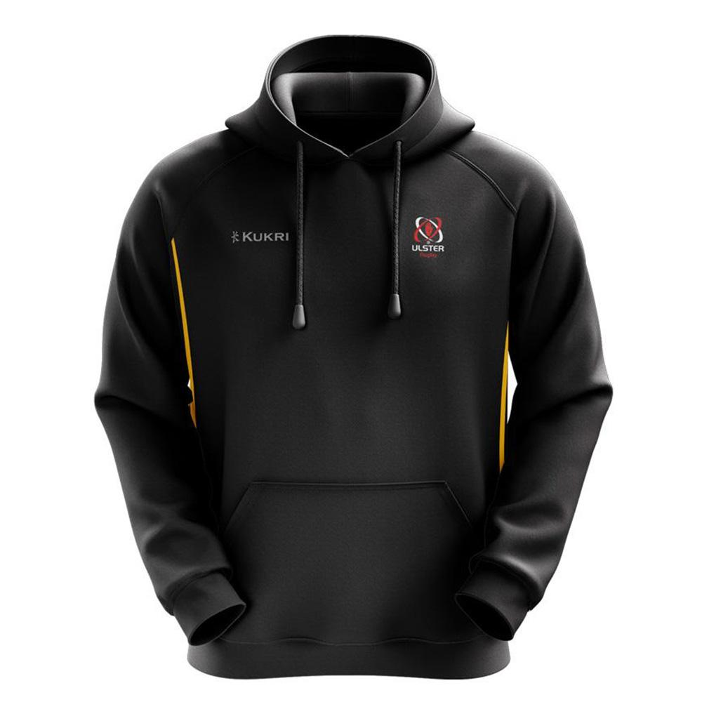 Ulster Rugby 2020/21 - Lifestyle Hoody - Black- Kids