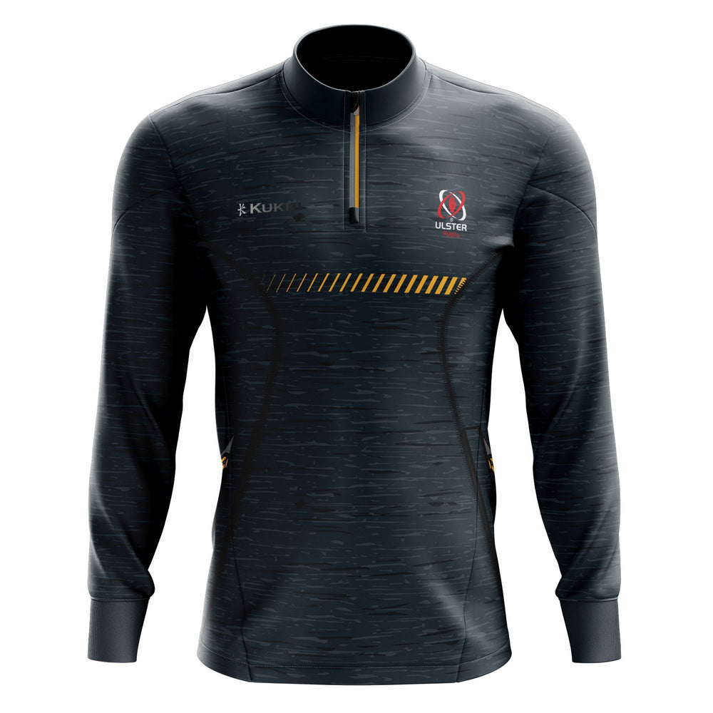 Ulster Rugby 2020/21 - 1/4 Zip Top - Grey- Kids