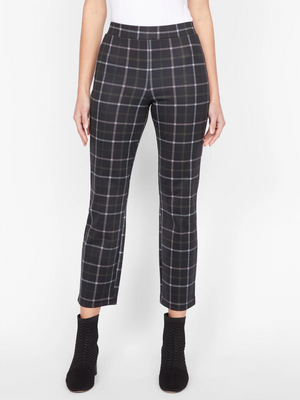 Load image into Gallery viewer, Pantalon tartan crop Carnaby