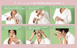 Masque matcha Winky Lux