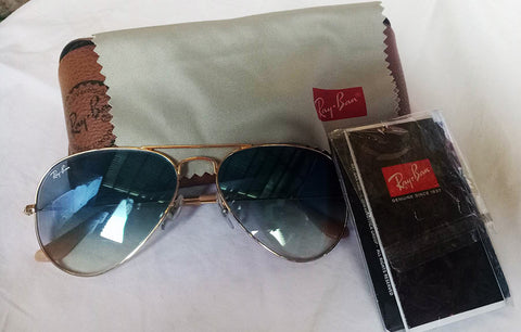 Ray-Bans Aviator Sunglasses Authentic