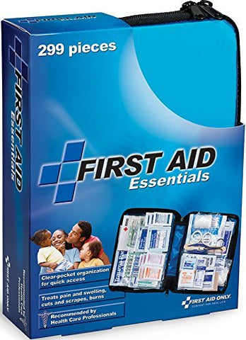 First Aid Only All-purpose First Aid Kit, Soft Case with Zipper, 299-Piece Kit - WyldekardeWorld
