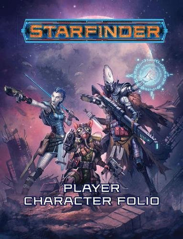 Starfinder Roleplaying Game: Starfinder Player Character Folio Paperback - WyldekardeWorld
