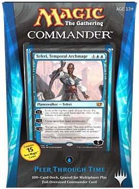 Commander 2014 Peer Through Time Deck (MTG) - WyldekardeWorld