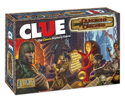 CLUE: Dungeons & Dragons - WyldekardeWorld