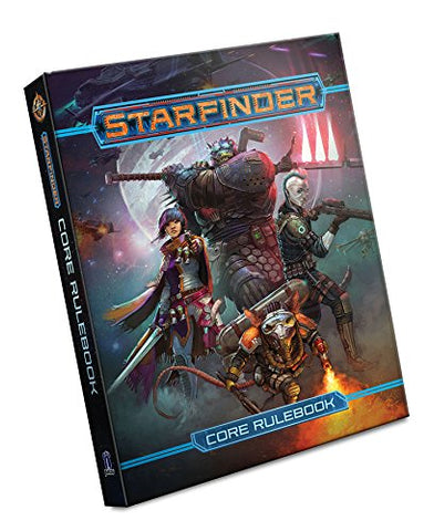 Starfinder Roleplaying Game: Starfinder Core Rulebook Hardcover - WyldekardeWorld