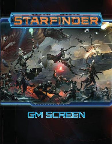 Starfinder Roleplaying Game: Starfinder GM Screen Hardcover - WyldekardeWorld
