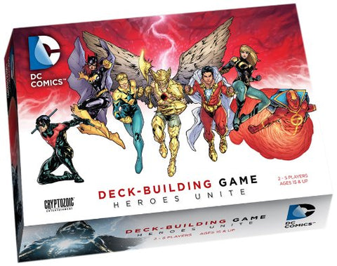DC Comics Deck-Building Game: Heroes Unite - WyldekardeWorld