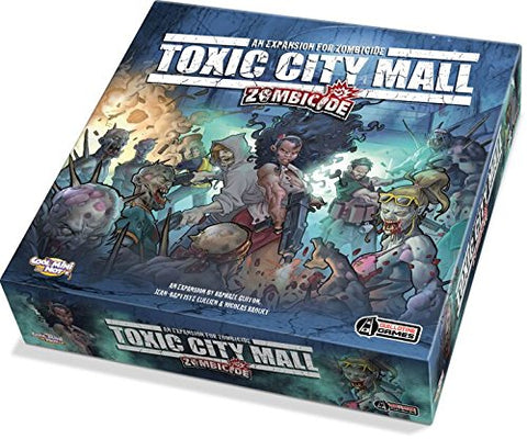Zombicide Toxic City Mall Expansion Board Game - WyldekardeWorld