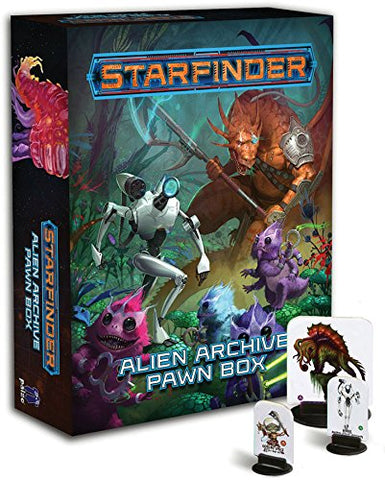 Starfinder Pawns: Alien Archive Pawn Box Game - WyldekardeWorld