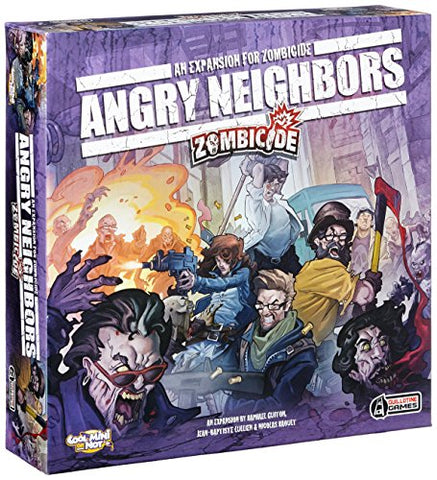 Zombicide Angry Neighbors Game - WyldekardeWorld