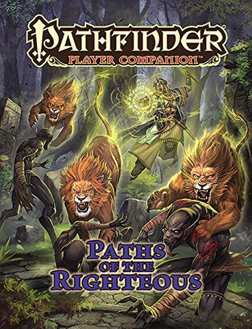 Pathfinder Player Companion: Paths of the Righteous Paperback - WyldekardeWorld