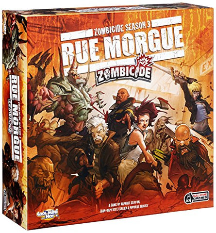 Zombicide Season 3 Rue Morgue Board Game - WyldekardeWorld