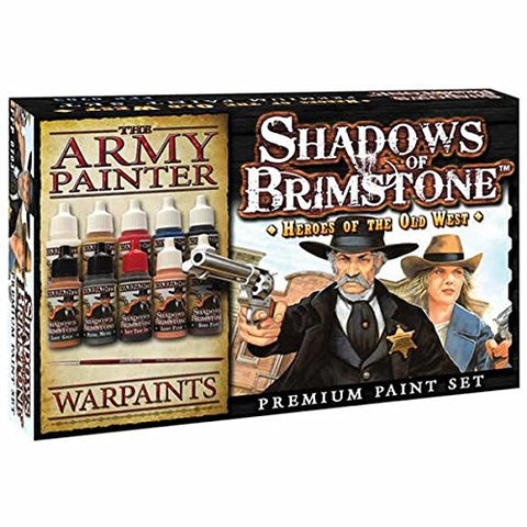 Shadows of Brimstone: Heroes of the Old West Army Painter Set